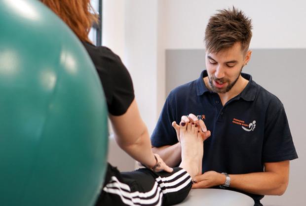 Zdjecie rehabilitacja stopy