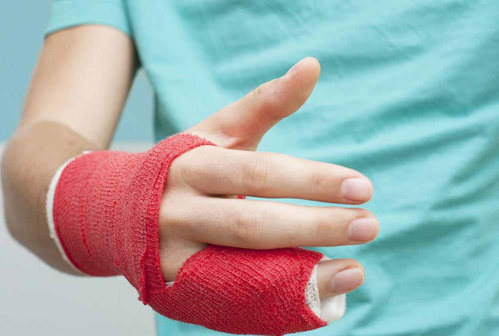 objawy zlaman palca